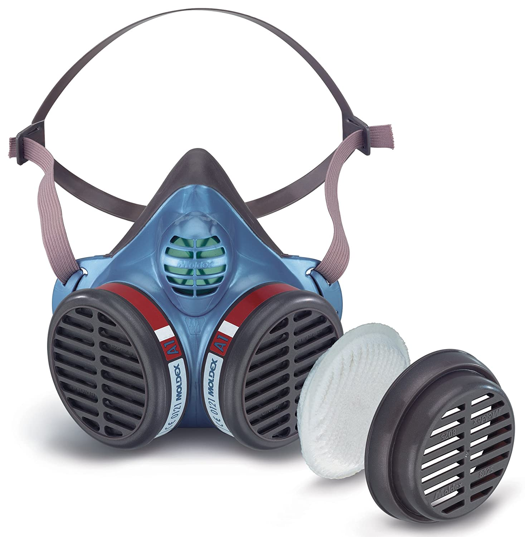 Moldex 5174 Size Medium/Large FFA1P2 R D Half Mask - White