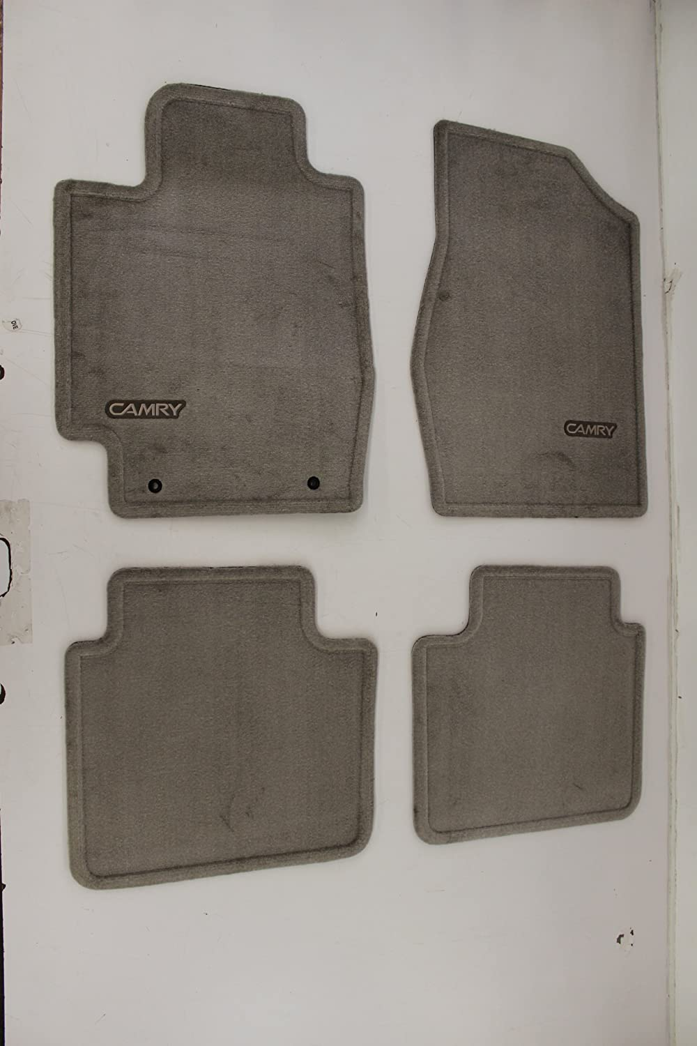 Genuine Toyota Accessories PT208-03120-13 Custom Fit Carpet Floor Mat - Set of 4 Ash