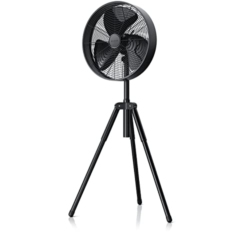 Brandson – NUEVO 2018 Ventilador de pie de 50 W (trípode) | Ventilador de