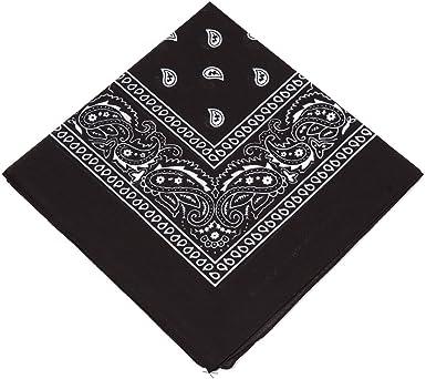 Cotton Head Wrap Paisley Bandana Head Wrap Neck Scarf Wristband Handkerchief