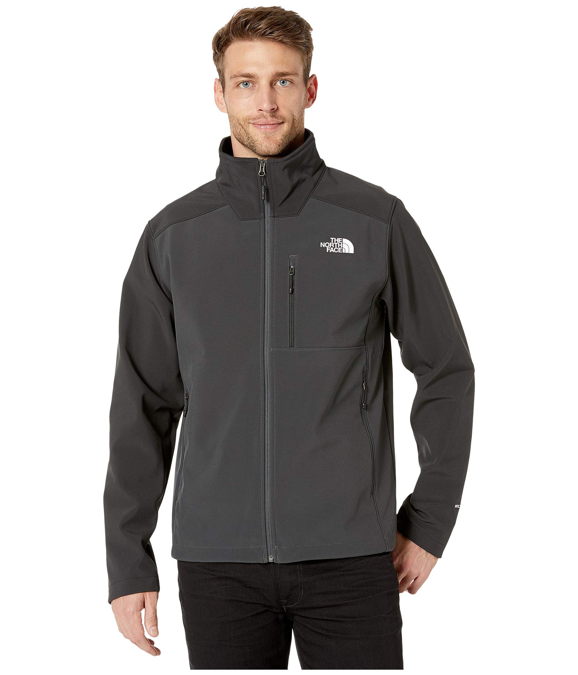 The North Face Men's Apex Bionic 2 Jacket, Asphalt Grey/TNF Black, X-Large by The North Face
