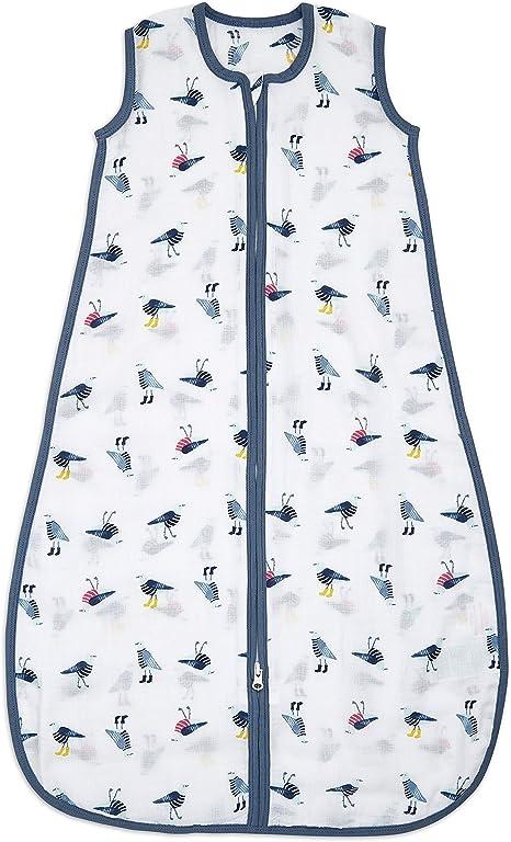 aden by aden + anais Essential - Saco de dormir (1,0 tog, 6 a 18 meses), 100% muselina de algodón: Amazon.es: Bebé