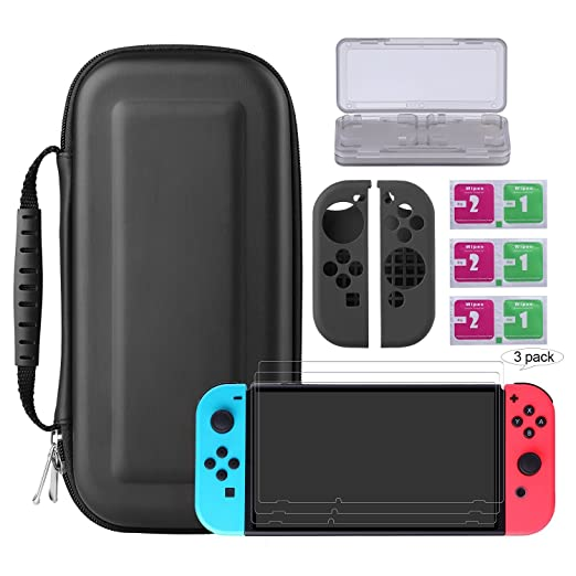 37 opinioni per Bestico Nintendo Switch Protector Kit, Switch Accessori 4 in 1 include Nintendo