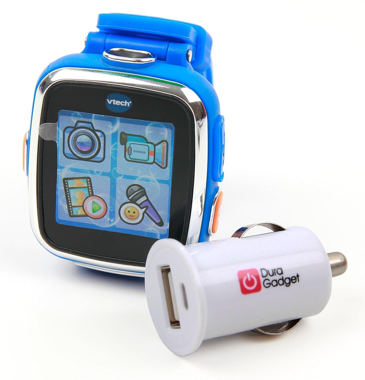 DURAGADGET Cargador Encendedor Coche Compatible con VTech Kidizoom ...