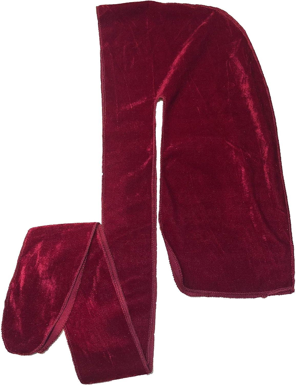 360 Waves Extra Long Straps for Men Will Last for Years 20+ Colors Velvet Premium Durag Slippery Apparel