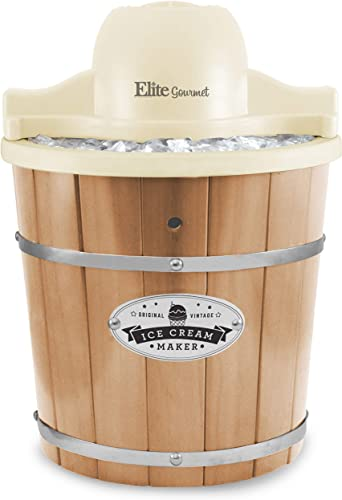 Maxi-Matic Old Fashioned Vintage Appalachian Wood Bucket Electric Maker Machine
