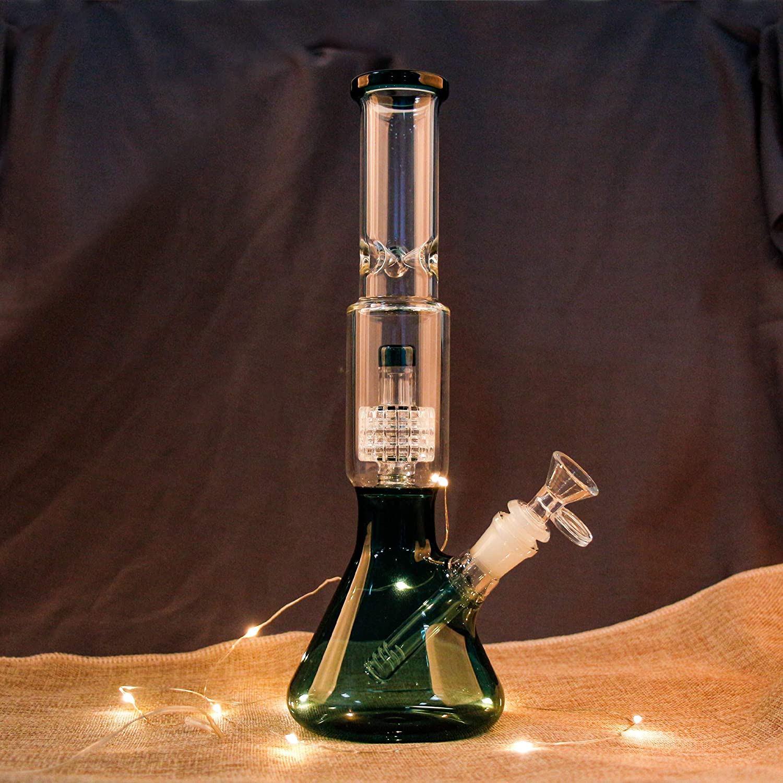 Dobene 14.5mm Glass Water Green Bottle