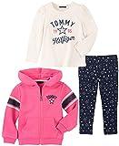 Tommy Hilfiger Girls' Little 3 Pieces Jacket