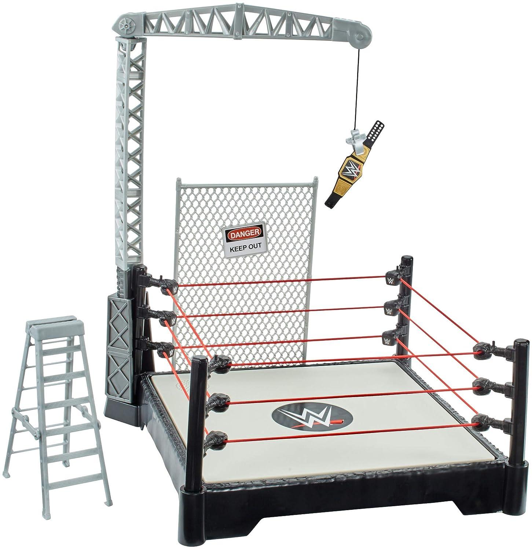 Mattel Spain – WWE Powerlift Playset, Mehrfarbig (21 – 65 GFH)