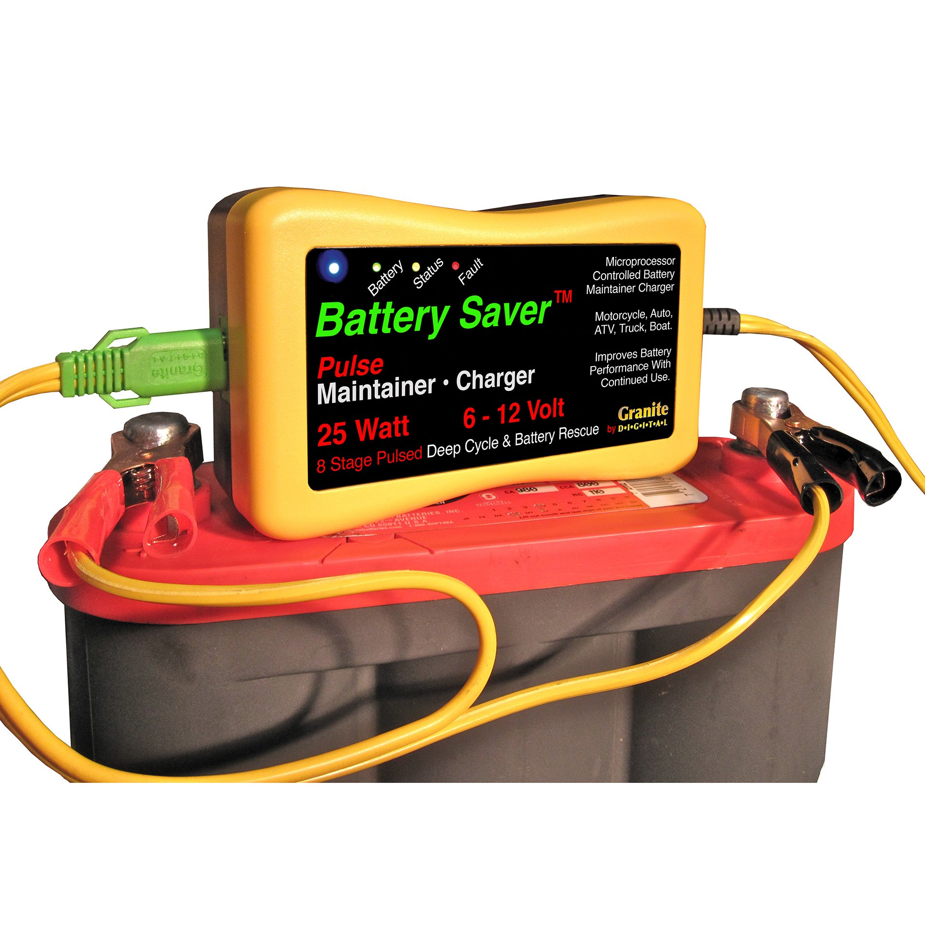 Save A Battery 3015 12 Volt/25 Watt Battery Saver/Maintainer and Battery Rescue by Battery Saver (Image #2)