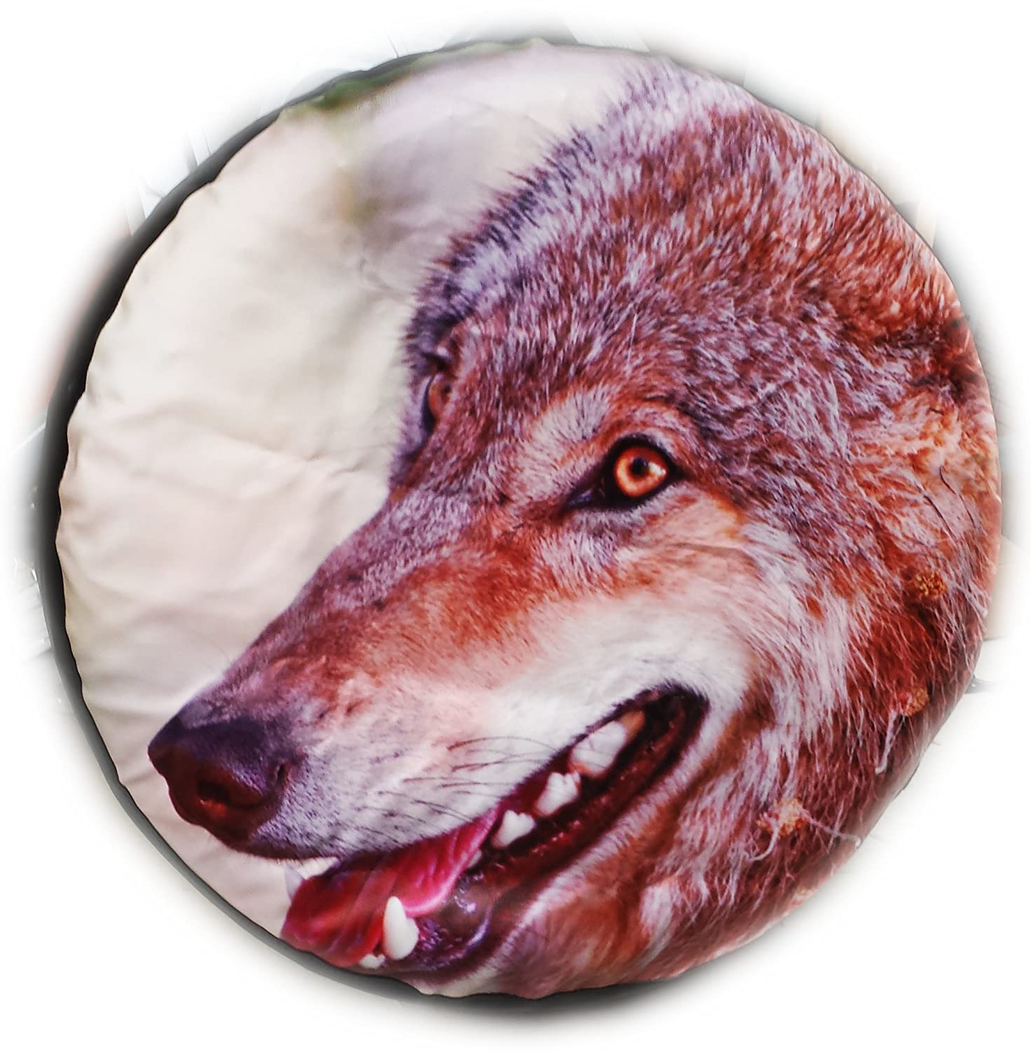 4X4 TYRE COVER WOLF CUB SPARE WHEEL TIRE COVER HONDA SUZUKI FREELANDER RANGE (Let us know your size!) BargainworldUK