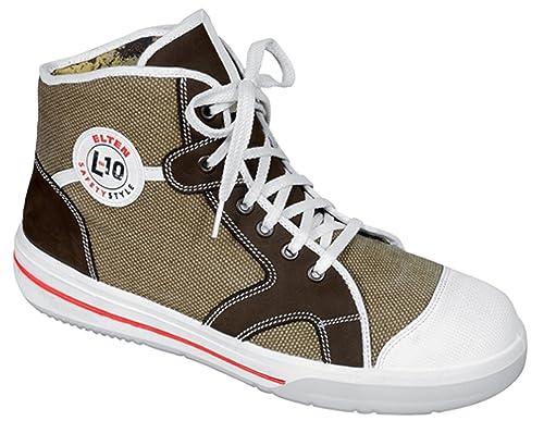 Elten S2 Sneaker L10 Xtreme - Botas de seguridad, diseño de zapatilla deportiva de media