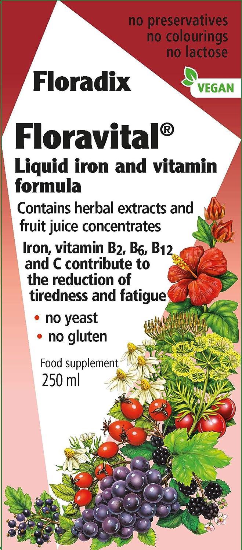 Floradix Floravital 250 ml
