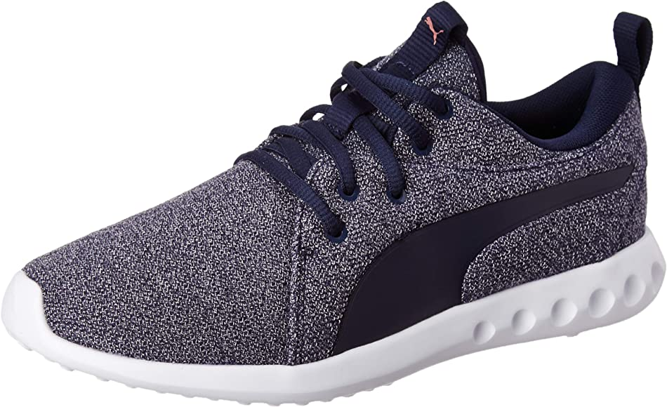 PUMA Carson 2 Knit NM Wns, Zapatillas de Running para Mujer, Peacoat-Rose Gold, 36 EU: Amazon.es: Zapatos y complementos