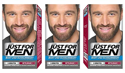 Just for MEN Brush en color Gel fórmula Barba y Bigote