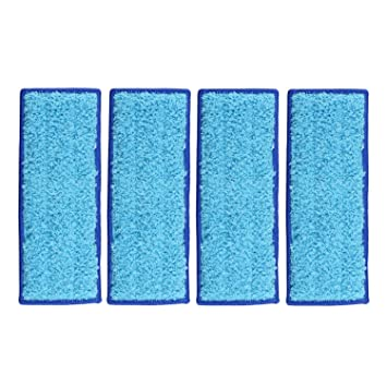 10x Washable Wet Mopping Pads Clean Floor for iRobot Braava Jet 240 Mop US Fast