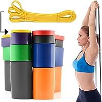 CKB LTD Resistensband enkel band för assisterad dra upp stretch stark latex gym elastisk kalistenik gymnastik ögla…
