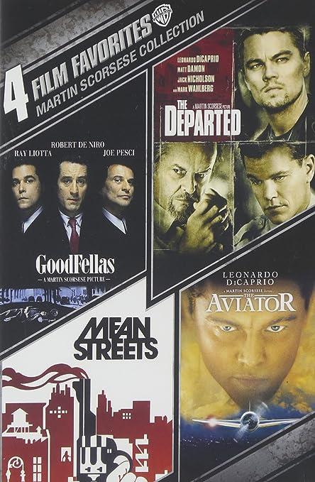 4 Film Favorites: Martin Scorsese Collection Reino Unido DVD: Amazon.es: Cine y Series TV