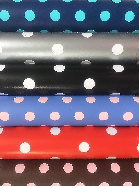 5 Rotoli di carta Regalo. Stile di Colori incovel