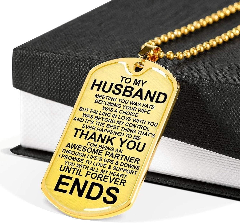 YF to My Husband Sentimental Love Tag