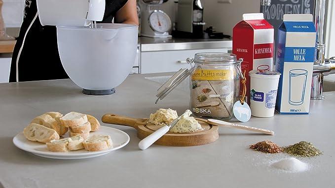 Set para la fabricación de Mantequilla. Todo lo que necesita para hacer mantequilla.: Amazon.es: Alimentación y bebidas