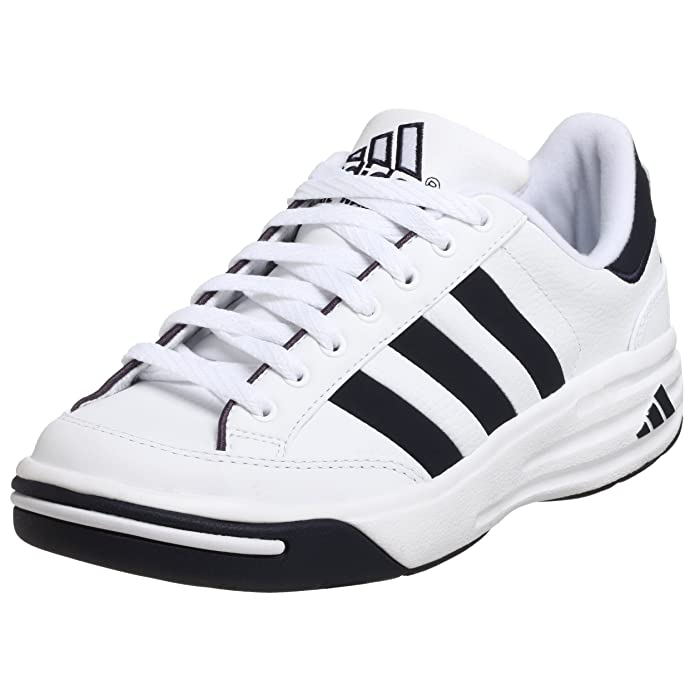 online retailer 16d1e 6cfc3 Amazon.com  adidas Mens Nastase Millenium Tennis Shoe, WhiteNavy, 13.5 M   Tennis  Racquet Sports