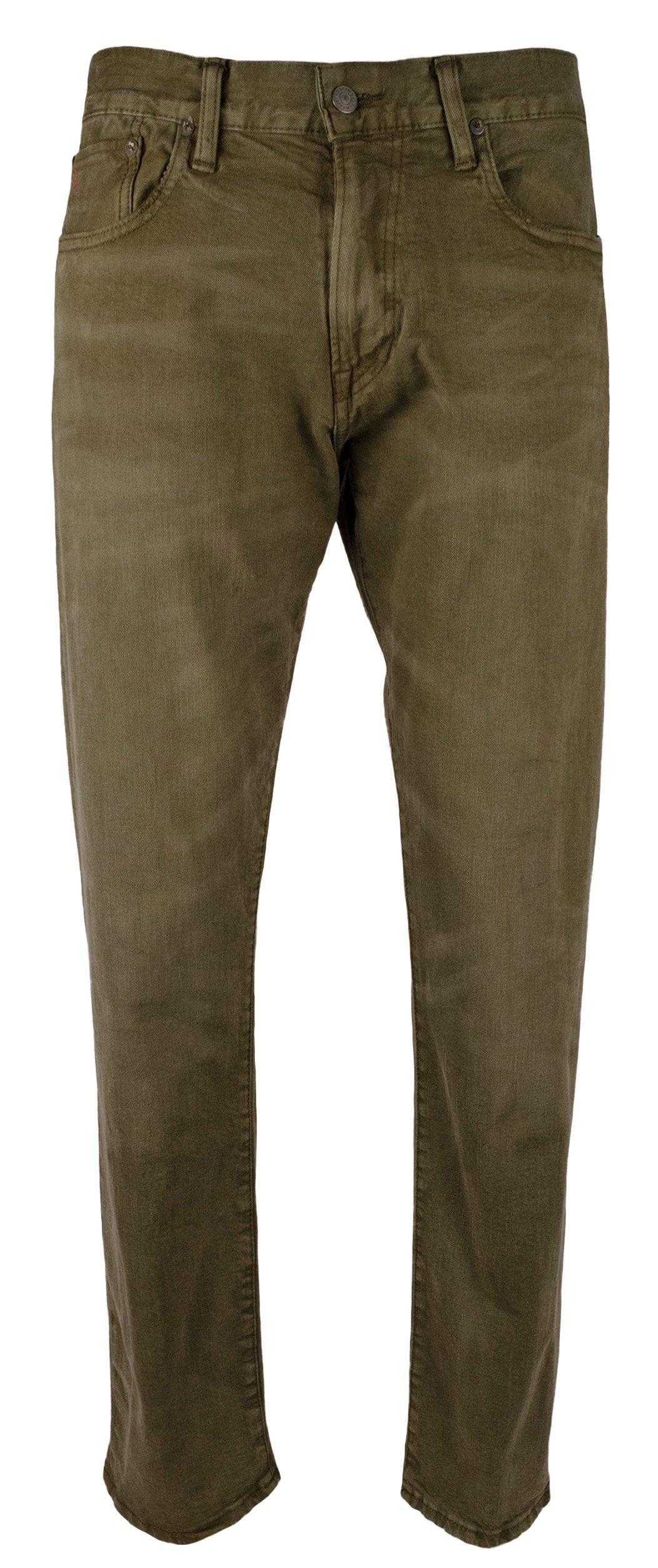 Ralph Lauren Polo Men's Hampton Straight Fit Stretch Jeans-AS-32Wx30L