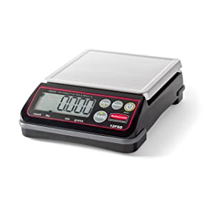 Rubbermaid Commercial Products Full-Size Digital Scale for Foodservice Portion Control, 12 lb (1812591)