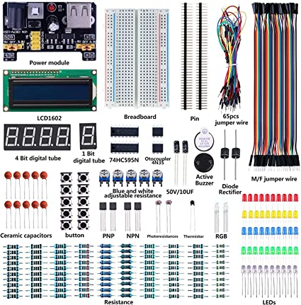 pour Arduino Raspberry Pi Starter Kit composants électroniques résistances etc