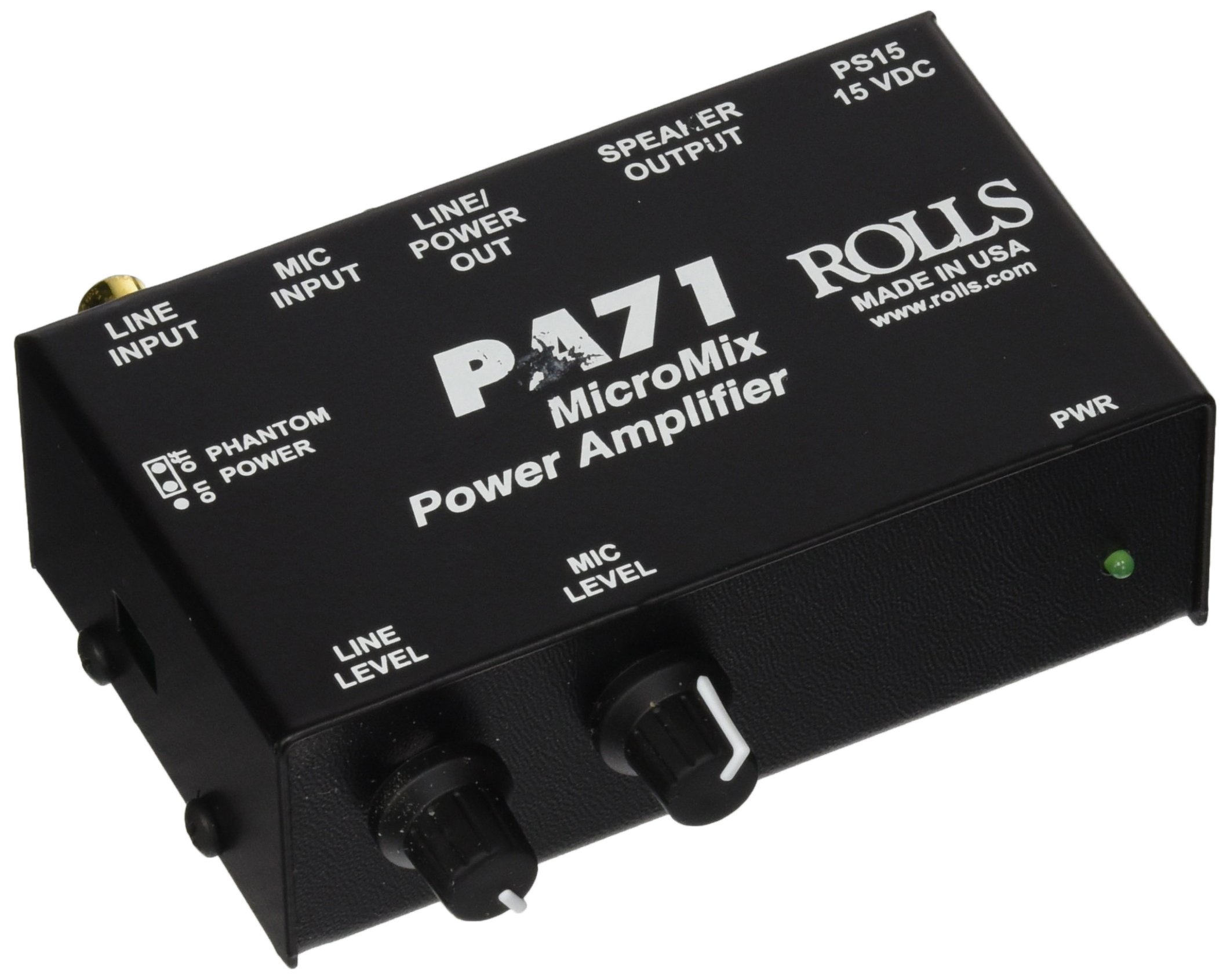 rolls MicroMix Power Amplifier (PA71PLUS)