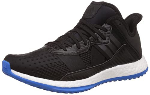e7d1fe1fb17d4 Adidas Men s Pure Boost Zg Trainer Black and Blue Running Shoes - 9 ...