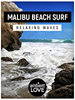 Malibu Beach Surf: Relaxing Waves