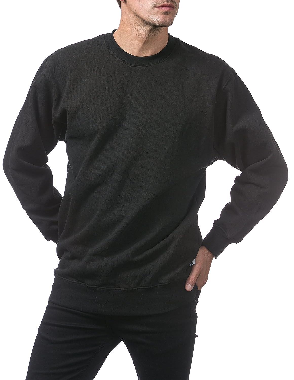Pro Club Men s Heavyweight 13oz Crew Neck Fleece Pullover Sweatshirt at  Amazon Men s Clothing store  ac4e15e6fba