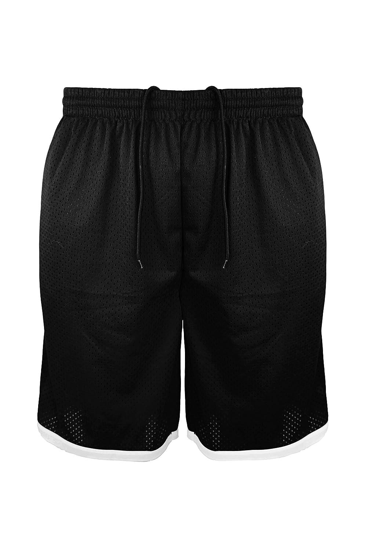 Leehanton SHORTS メンズ B06ZYBGG65 Large|ブラック ブラック Large