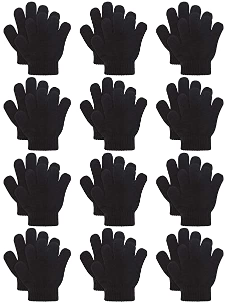 Amazon.com: Cooraby 12 pares de guantes mágicos cálidos para ...