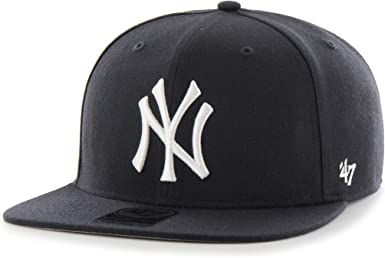47 MLB New York Yankees Sure Shot Captain Gorra, Azul (Navy ...