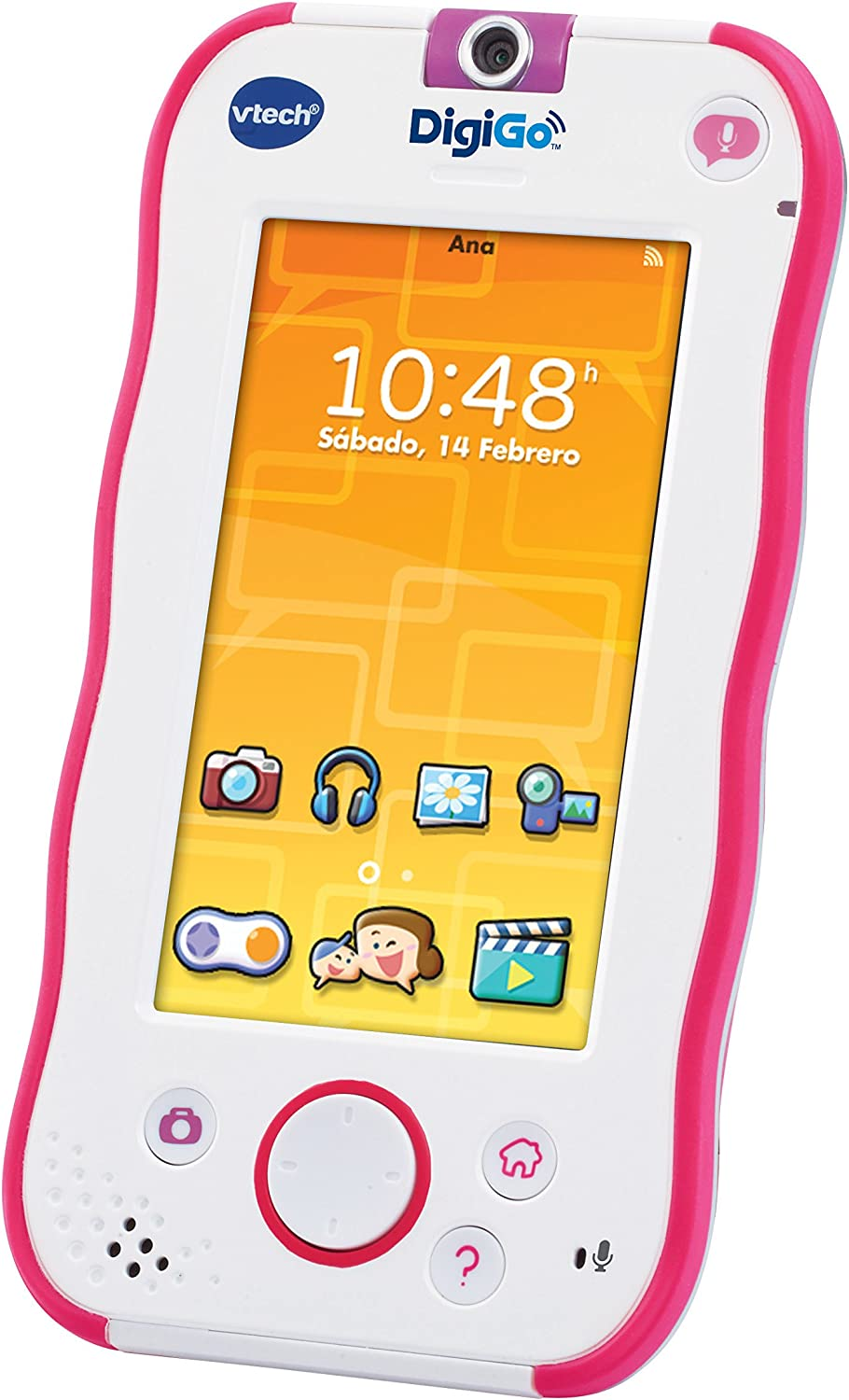 Amazon.es: VTech - DigiGo, Tablet Educativo para niños, Color Rosa ...