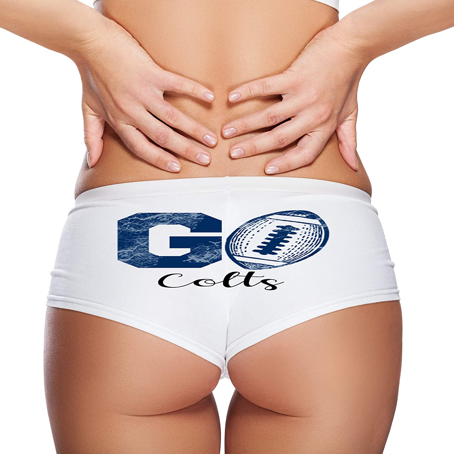 Go Colts Football Booty Shorts