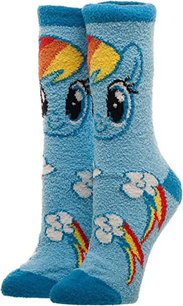 Bioworld Merchandising Independent Sales My Little Pony Fuzzy Socks