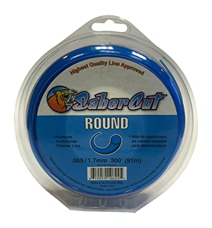 Sabercut DR06512 Small Donut Round Trimmer Line, 0.065