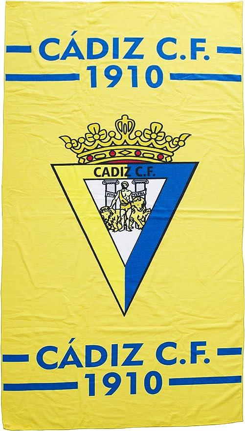 Cádiz CF Toacad Toalla, Azul/Amarillo, Talla Única: Amazon.es: Deportes y aire libre