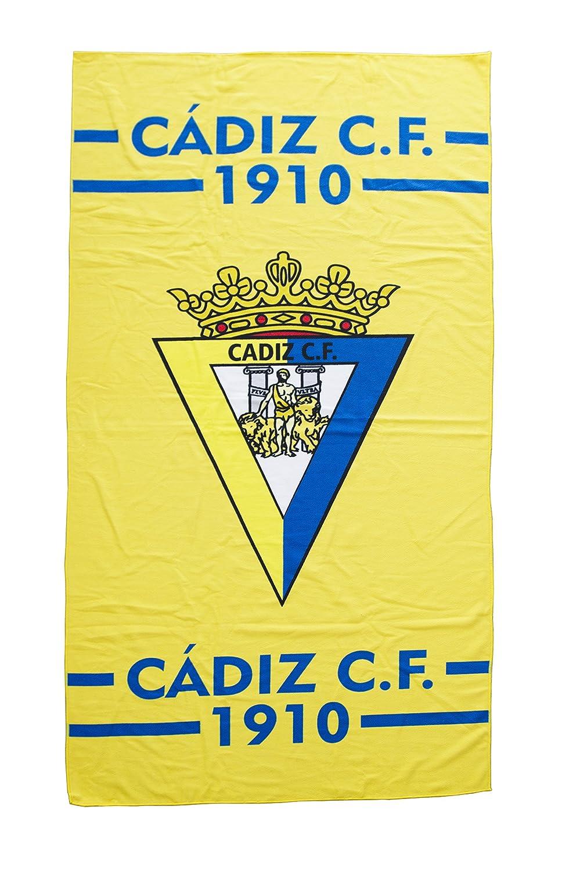 Azul//Amarillo Talla /Única C/ádiz CF Toacad Toalla