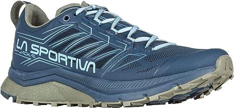 La Sportiva Jackal - Zapatillas para correr para mujer, Azul (Opal/Azul Pacífico), 43 EU: Amazon.es: Zapatos y complementos