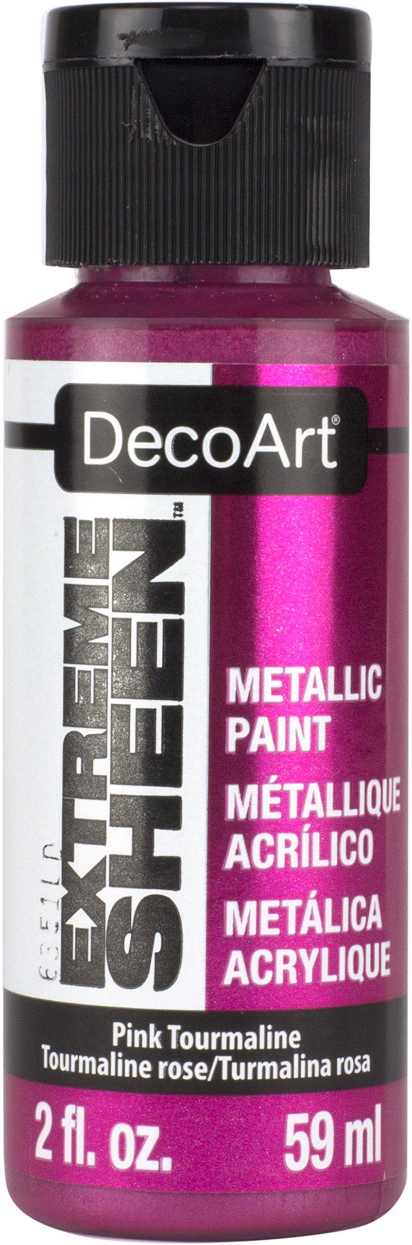 DecoArt 2 Ounce, Pink Tourmaline Extreme Sheen Paint