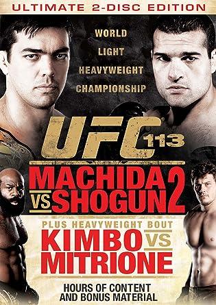 Amazon.co.jp | Ufc 113: Machid...