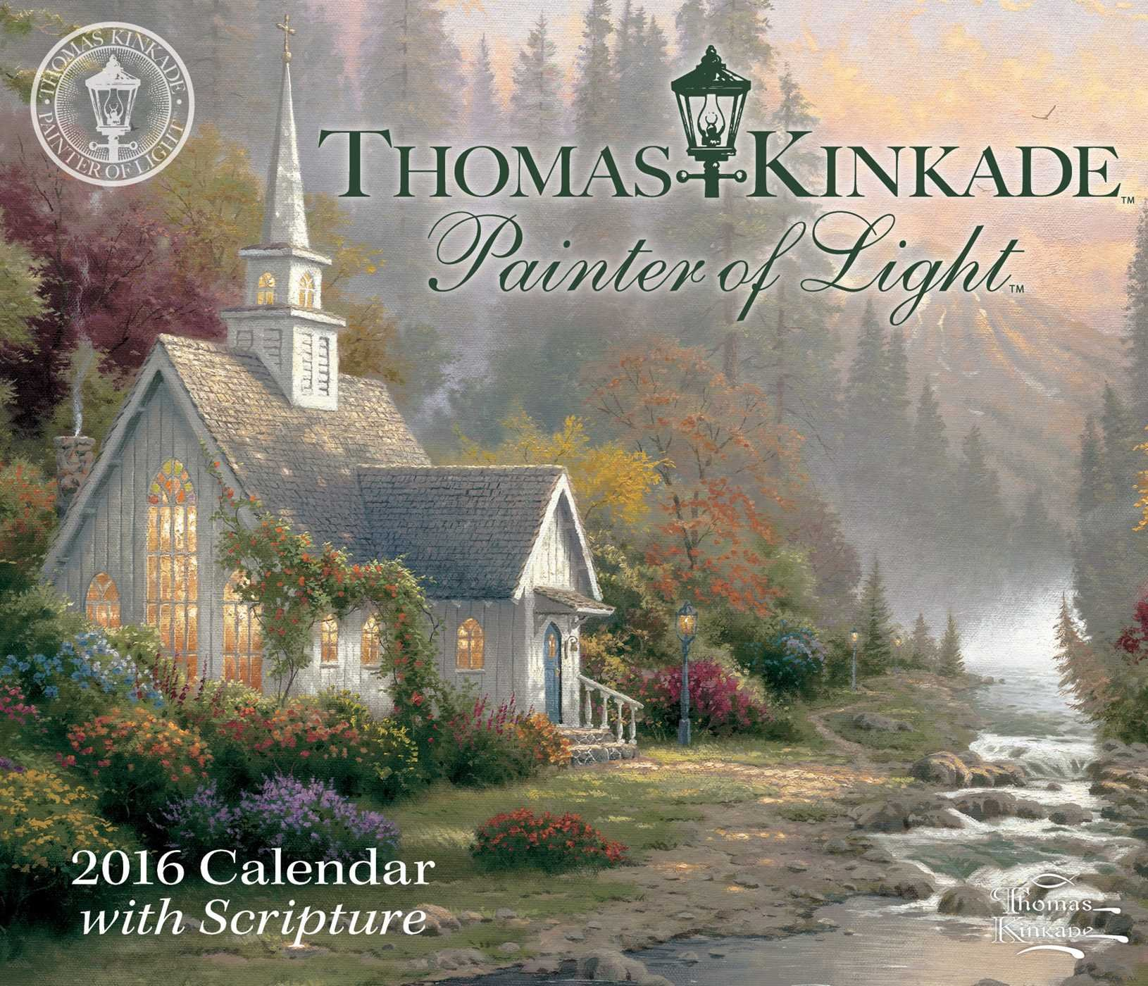 Thomas Kinkade Painter Of Light With Scripture 2016 Day To Day Calendar:  Thomas Kinkade: 0050837343207: Amazon.com: Books