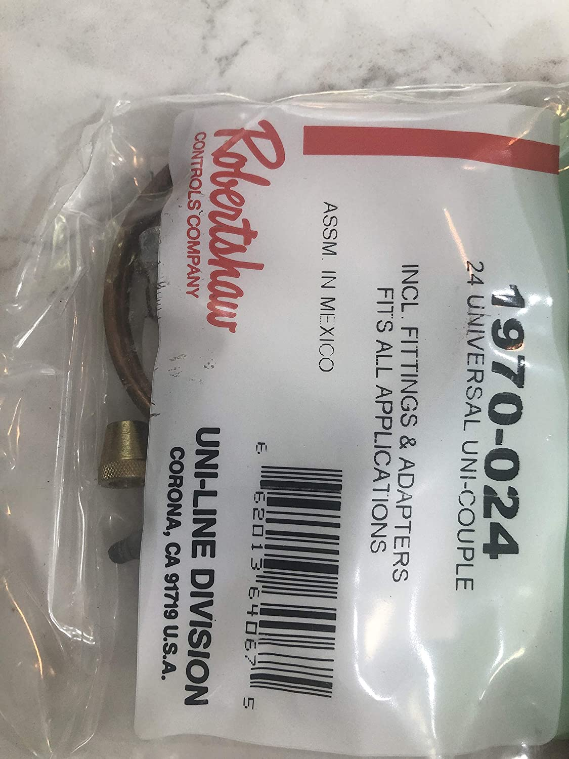 Supplying Demand 1980-024 Snap Fit Universal Thermocouple Replaces 1970-024 TJH06E-24