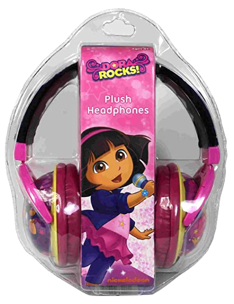 Color Nickelodeon 35067 TA Dora The Explorer Headphones