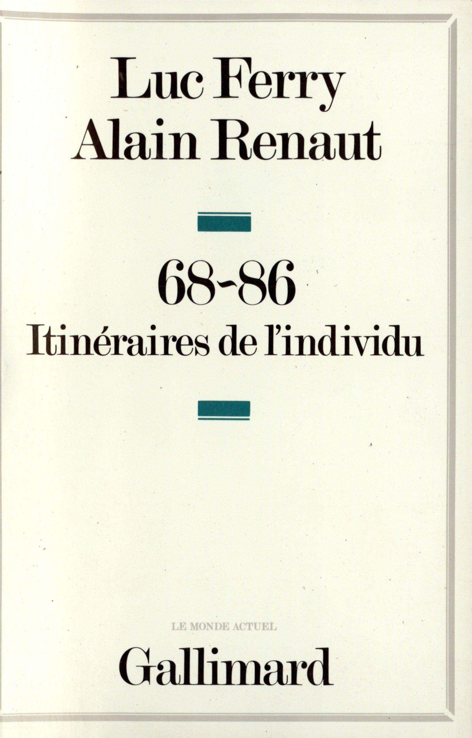 68-86 ITIN/ÉRAIRE DE LINDIVIDU