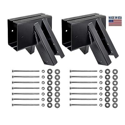 Bay Swings | Swing Set Brackets | Swing Frame | Wood Swing Set Kit | DIY Swing Set Hardware Kit | Made in USA: Toys & Games